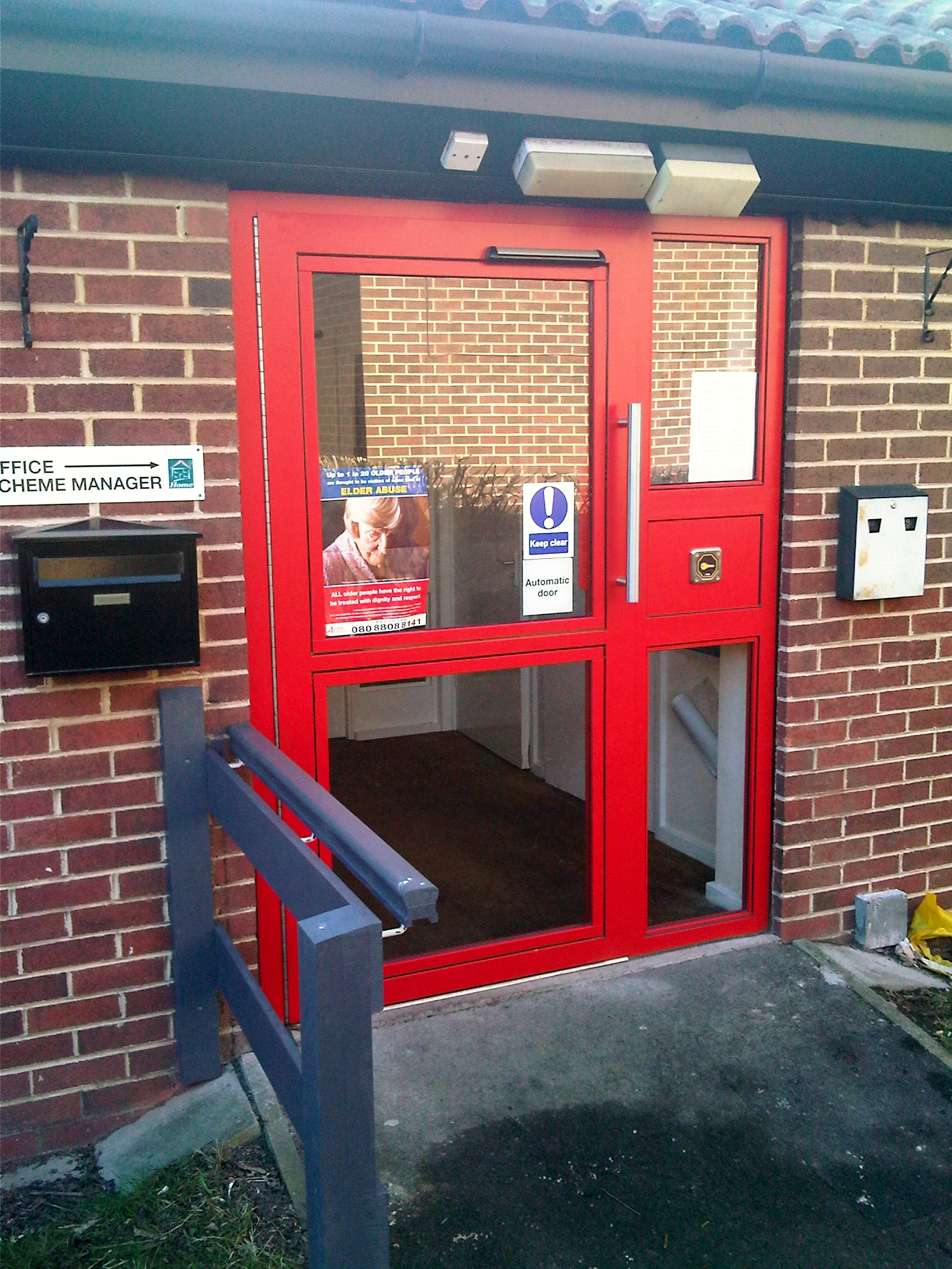 The NEOS ED Range of Steel Communal Entrance Doors and Screens are manufactured to incorporate all the latest DDA requirements and enhanced features such as ... & Aged Persons / Sheltered Accomodation Units - NEOS ProtectNEOS Protect